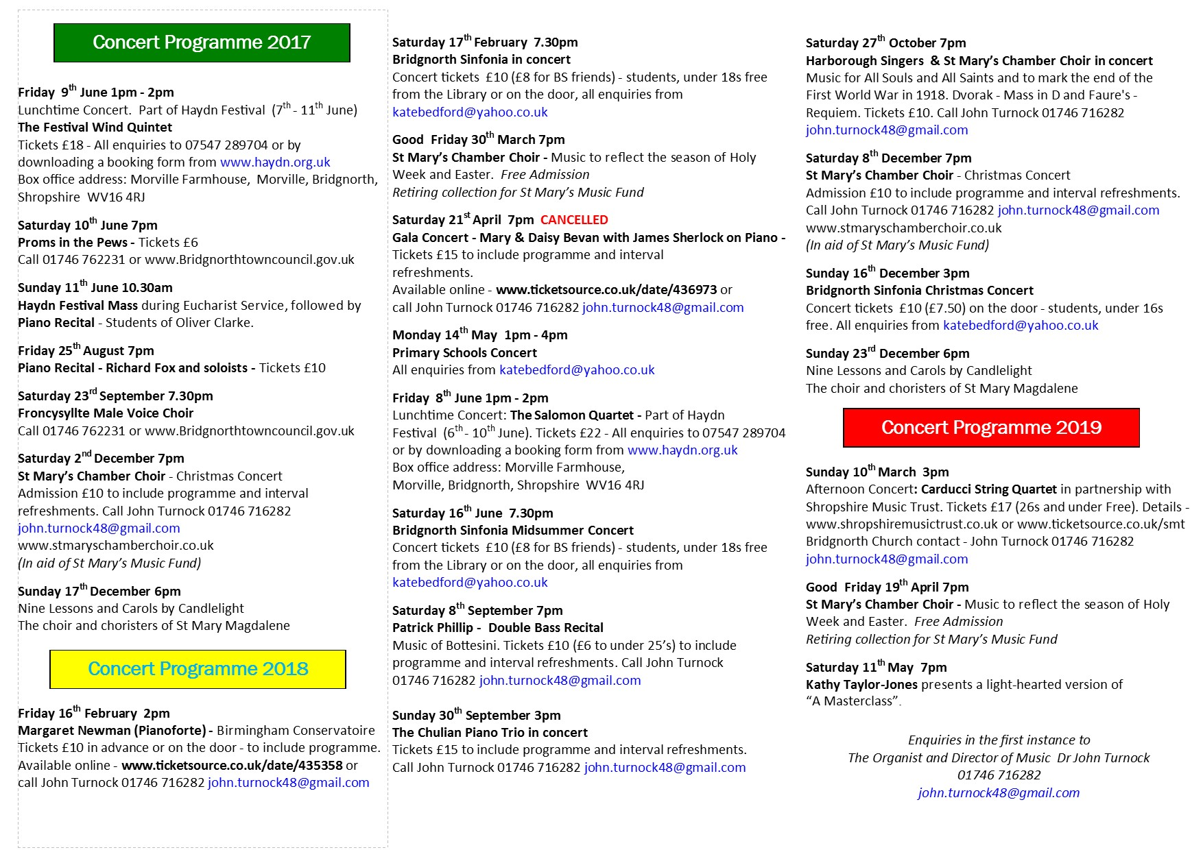 ST MARY MAGDALENE CONCERT PROGRAMME   2017-2019 working copy 14.11.18